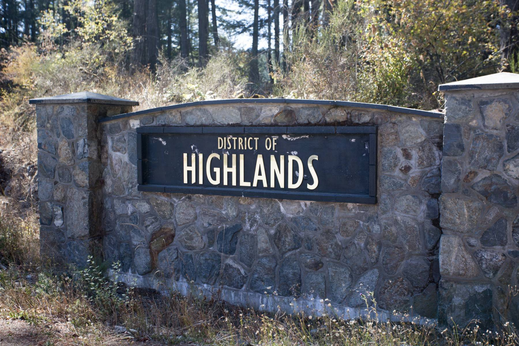 Highlands BC Homes For Sale scenery