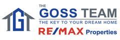 THE GOSS TEAM RE/MAX PROPERTIES