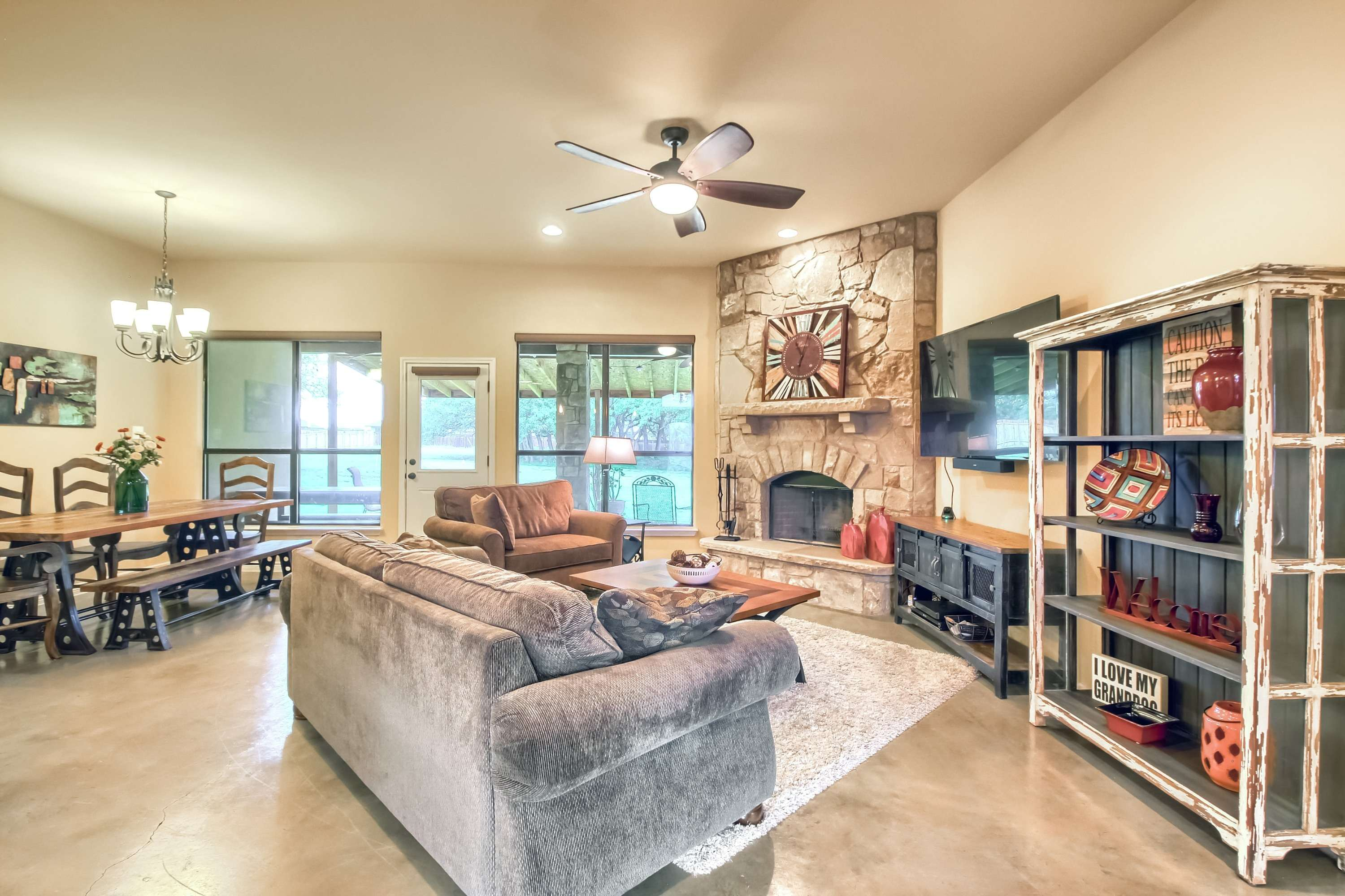 home on acreage for sale Georgetown TX