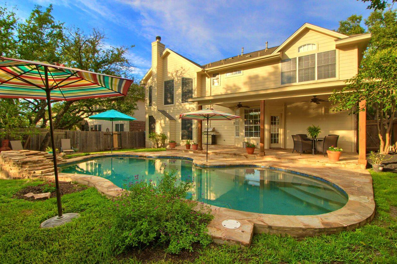 Austin TX home with pool for sale