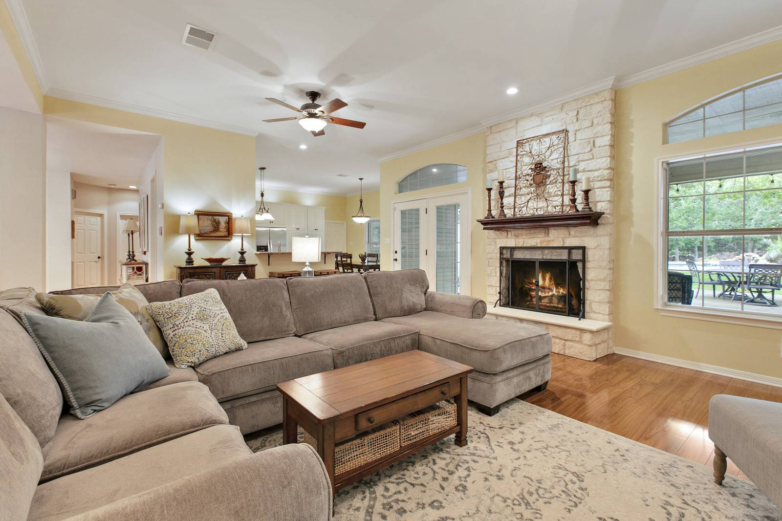 Georgetown TX home for sale on land