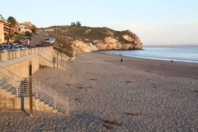 Avila beach city beach