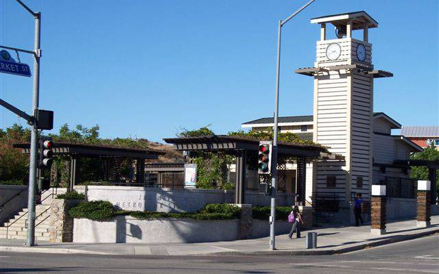 Newhall Metrolink Station