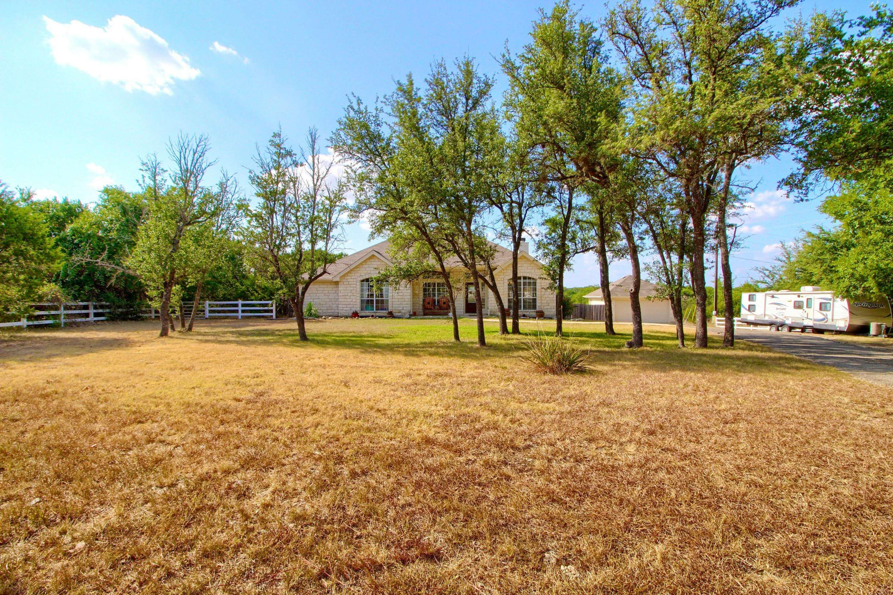 acreage home for sale Liberty Hill TX