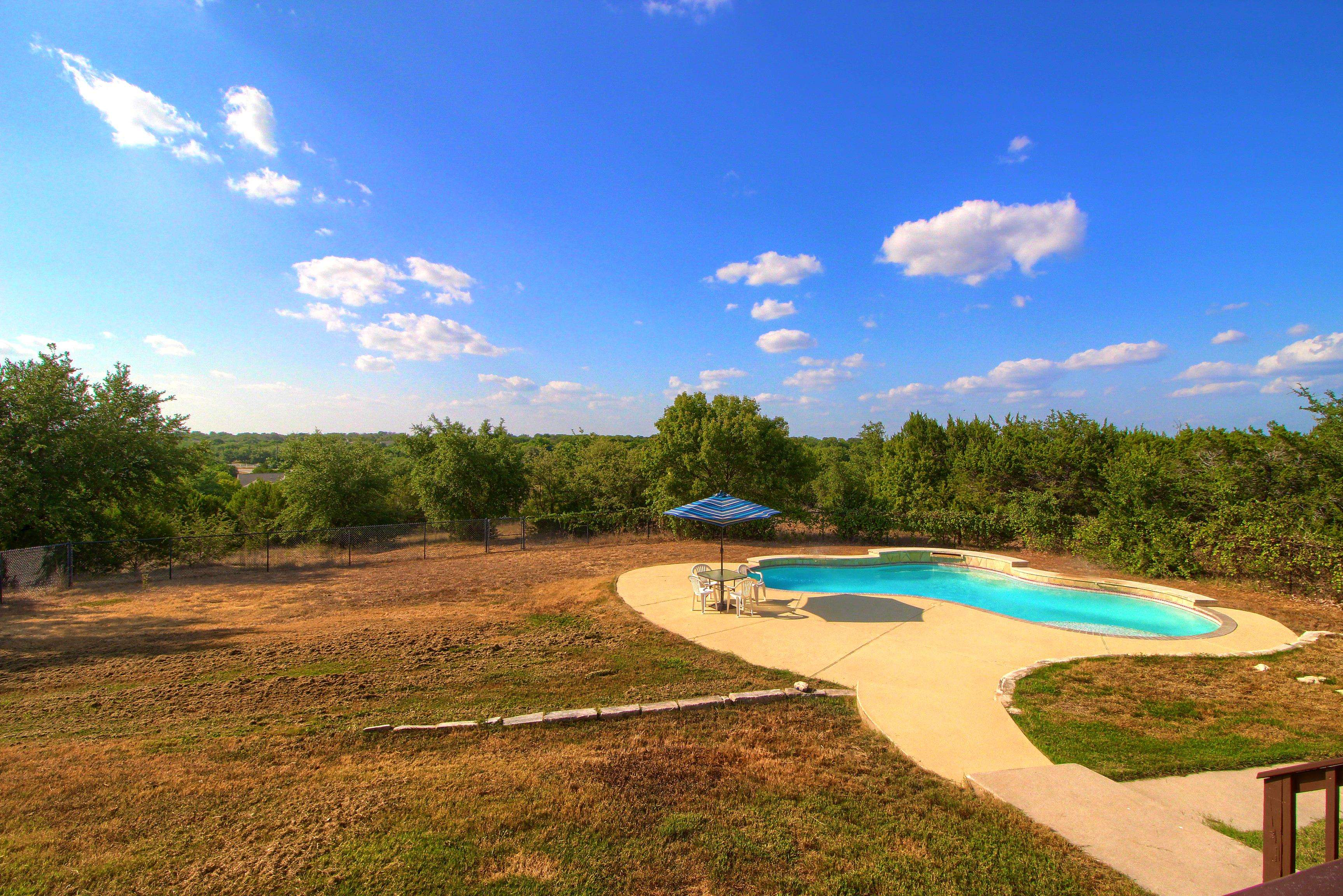 Liberty Hill TX acreage home for sale