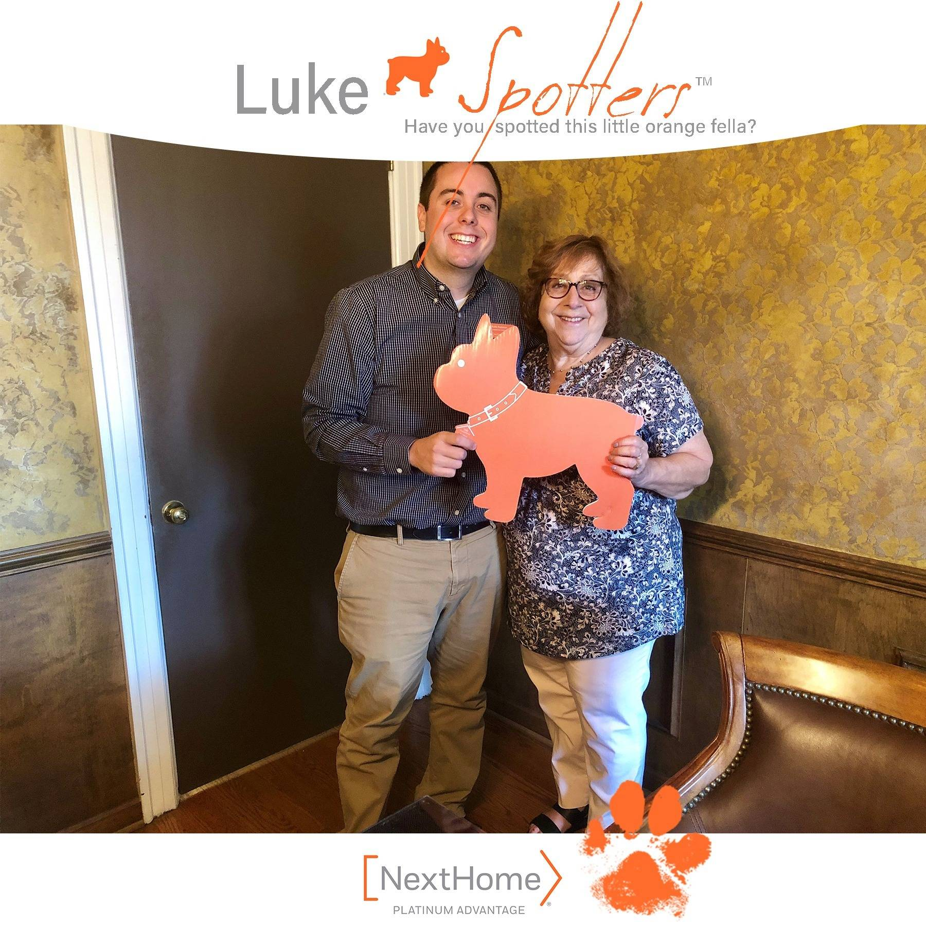 Luke & Keith Rushman, REALTOR® celebrate the closing with Janet Mann.