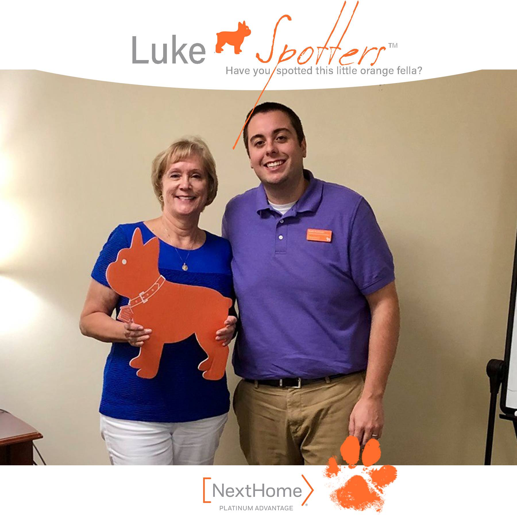 Luke & Keith Rushman, REALTOR® celebrate the closing with Diane Roberts.