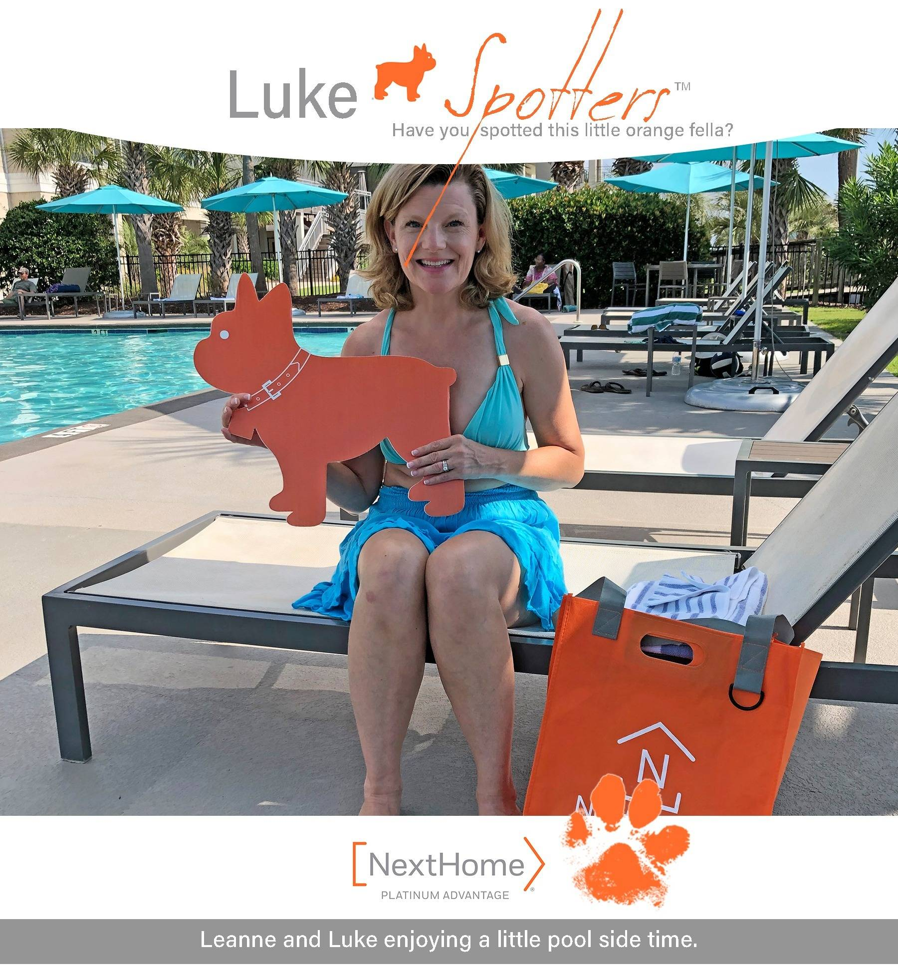 Luke Spotters - Where in the world is our little orange frenchie.
