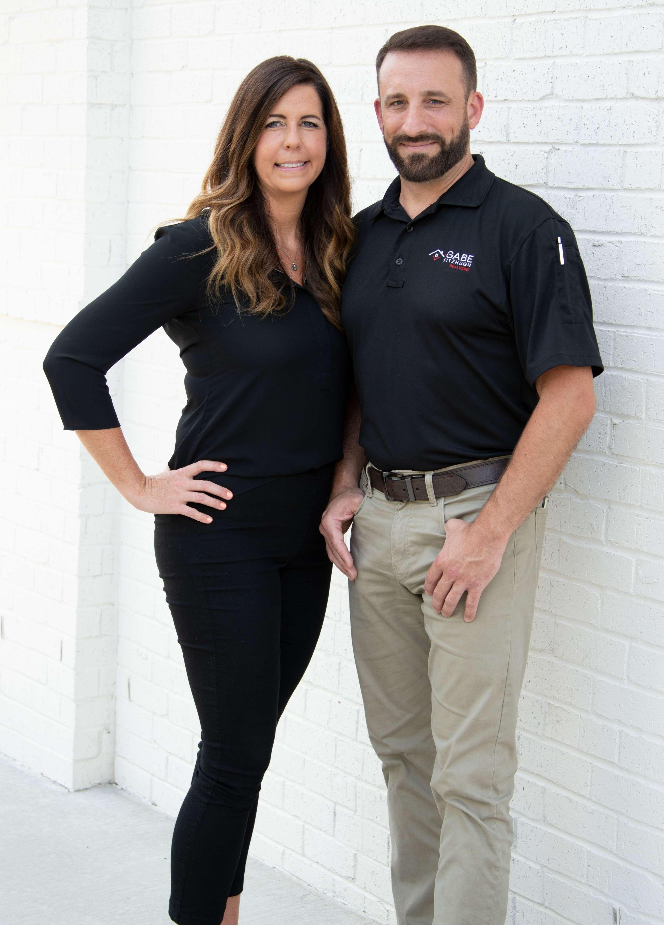 Gabe and Katey Fitzhugh, the Fitzhugh real estate team