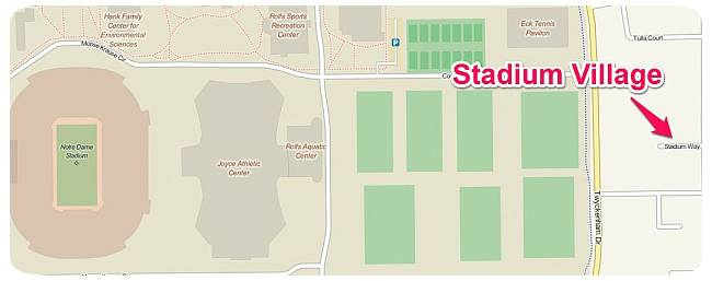 Stadium Village Location