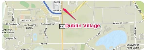 Dublin Village Location