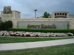 Avery Ranch Austin Texas real estate