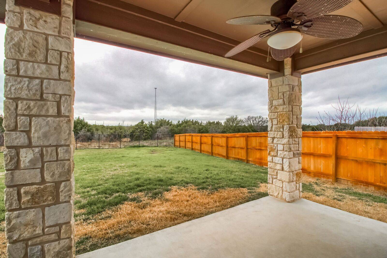 Georgetown TX home for sale on half an acre