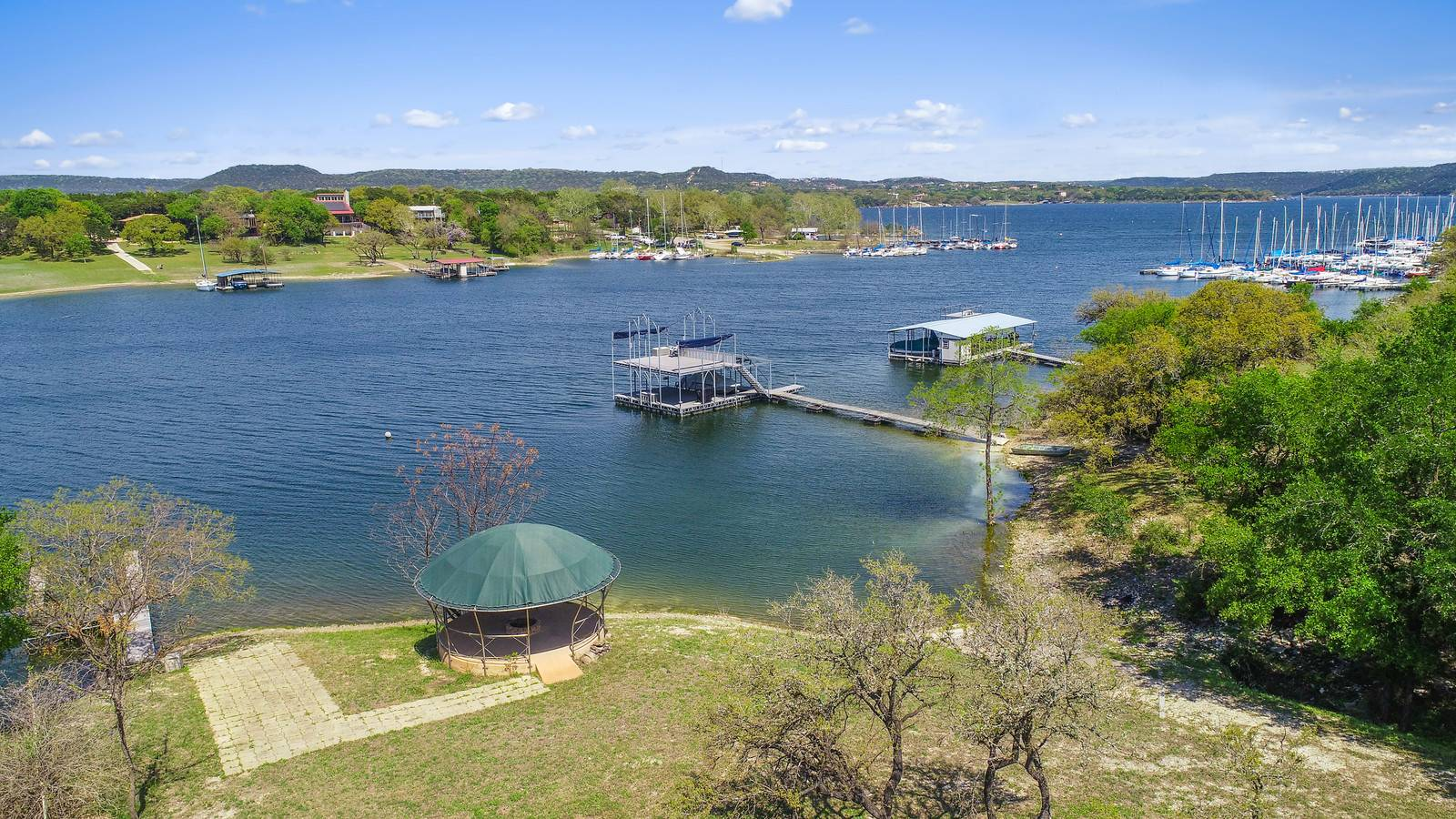 Lake Travis home for sale on acreage